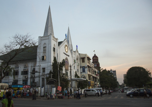 Baptist church in people square, Yangon, Myanmar