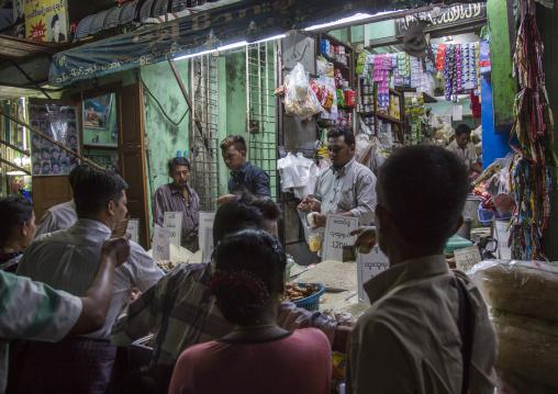 Shop In The Muslim Quarter, Yangon, Myanmar
