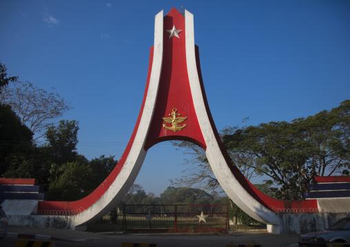 Army Monument, Yangon, Myanmar