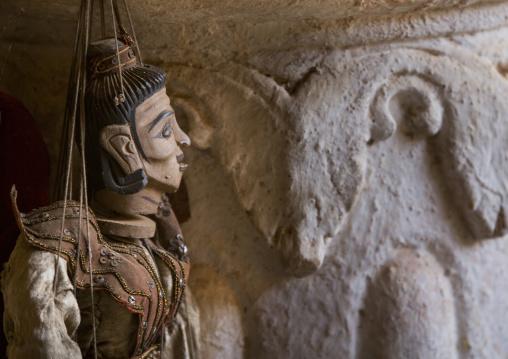 Puppet In Shwe Inn Thein Paya Temple Alley, Inle Lake, Myanmar