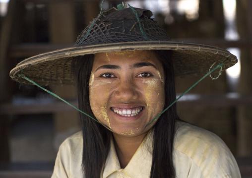 Smiling Rohingya Woman, Thandwe, Myanmar
