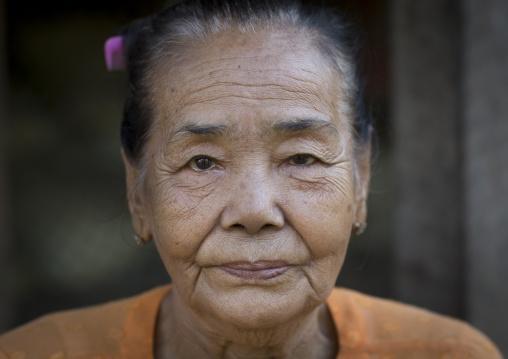 Rohingya Old Woman, Thandwe, Myanmar