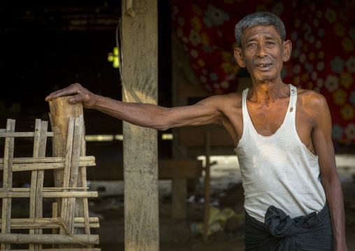 Rohingya Old Man, Thandwe, Myanmar