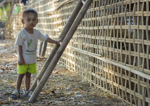 Rohingya Boy, Thandwe, Myanmar