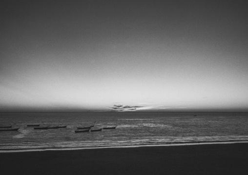Sunset Over The Beach, Ngapali, Myanmar