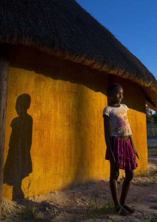 Young Ovambo Girl, Ondangwa, Namibia