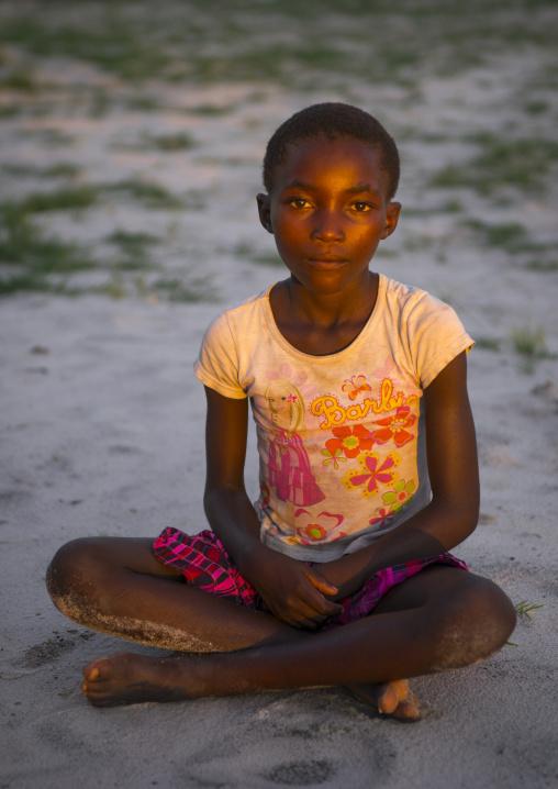 Young Ovambo Girl, Ongula, Namibia