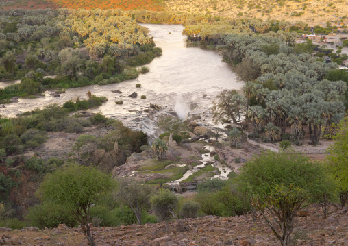 River Kunene And The Epupa Waterfalls, Namibia