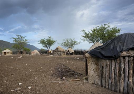 Traditional Hut Of Himba People, Epupa, Namibia