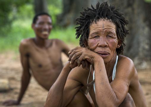 Bushmen People, Tsumkwe, Namibia