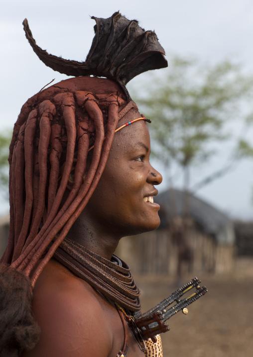 Himba Woman, Epupa, Namibia