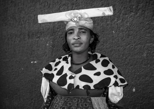 Herero Woman, Opuwo, Namibia
