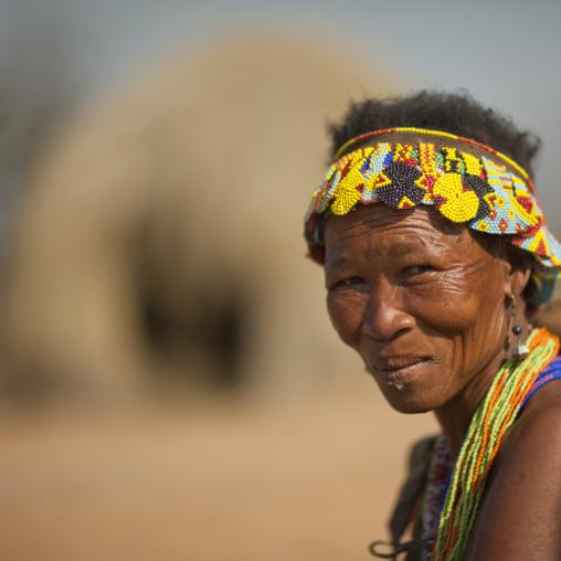 Old San Woman, Namibia