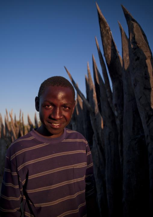 Mister Petrus, Ovambo Tribe, Ruacana Area,  Namibia