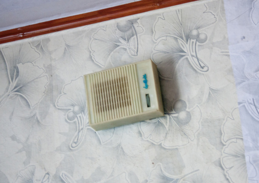 Intercom radio in a North Korean house, South Hamgyong Province, Hamhung, North Korea
