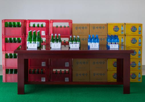 Kangso yaksu mineral water factory, South Pyongan Province, Nampo, North Korea