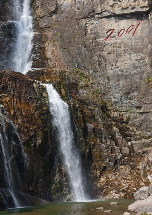 Ulim waterfalls, Kangwon Province, Wonsan, North Korea