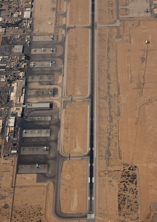 Salalah Airport Shooted From High Spot, Oman