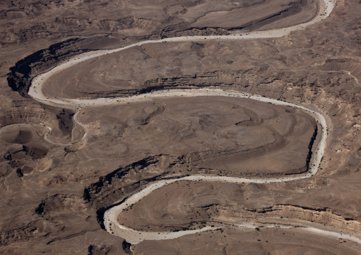Zigzag Roads In The Hills, In The South Of Oman, Salalah