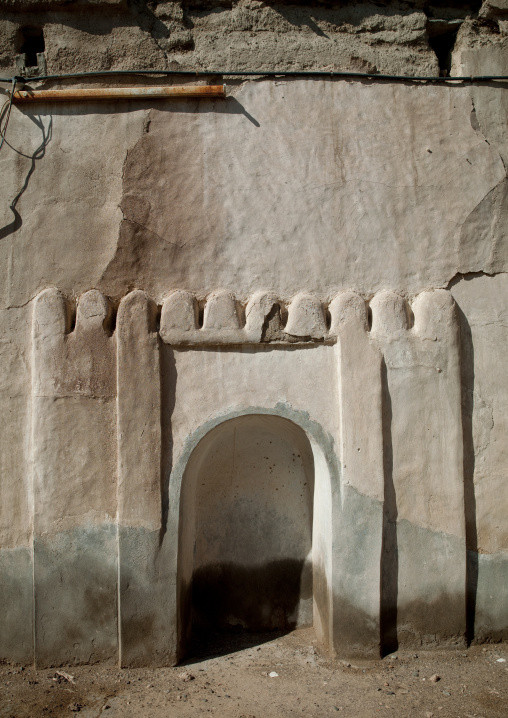 Mihrab In Old Ibra Mosque, Oman