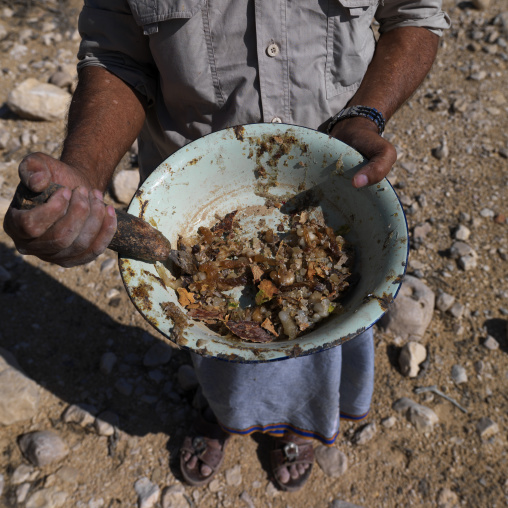 The Frankincense Collected By Mansaha, Wadi Dawkah, Oman