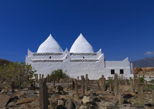 White Bin Ali Tomb, Near Salalah, Oman
