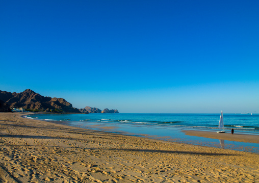 Al bustan palace hotel beach, Governorate of Muscat, Muscat, Oman