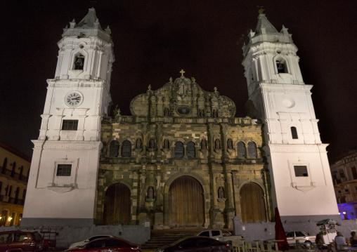 Panama, Province Of Panama, Panama City, Catedral De Nuestra Senora De La Asuncion In Casco Antiguo