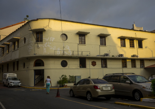 Panama, Province Of Panama, Panama City, Police Station In Casco Viejo