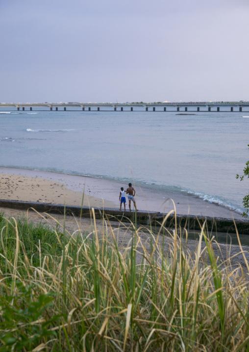 Panama, Province Of Panama, Panama City, Children On The Bay Of Casco Viejo