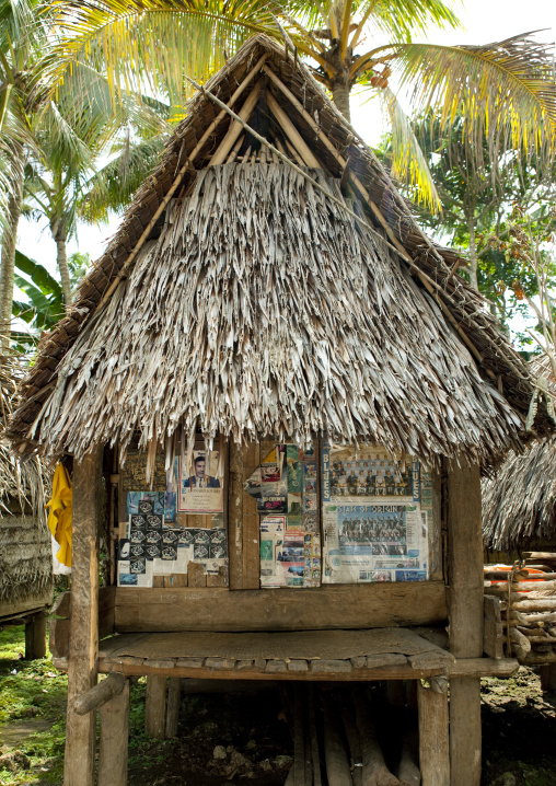 House of love for the teenagers, Milne Bay Province, Trobriand Island, Papua New Guinea