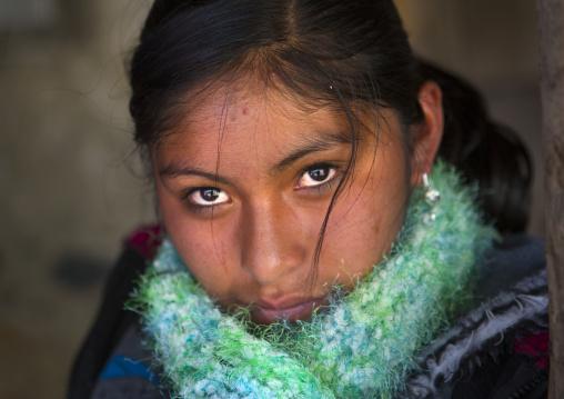 Young Woman During Qoyllur Riti Festival, Ocongate Cuzco, Peru