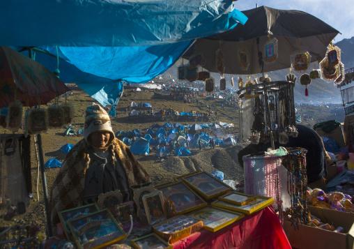 Festival Site Of Qoyllur Riti, Ocongate Cuzco, Peru