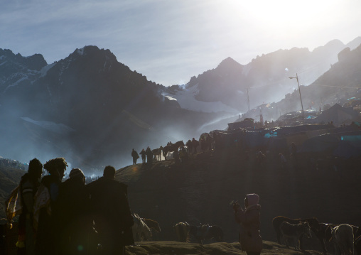 Festival Site Of Qoyllur Riti Festival, Ocongate Cuzco, Peru