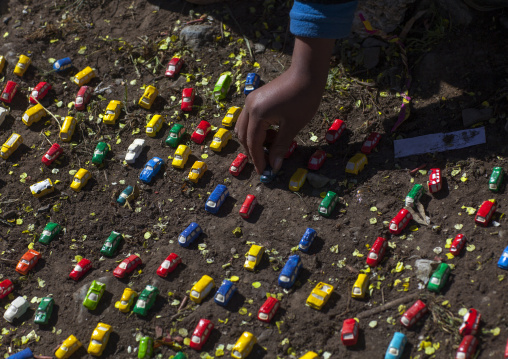 Toy Cars Sold At Qoyllur Riti Festival, Ocongate Cuzco, Peru