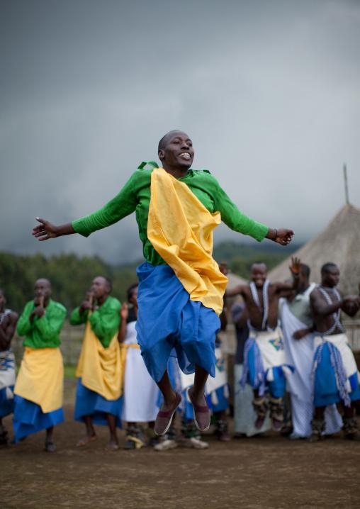 Intore dancers in ibwiwachu village - rwanda
