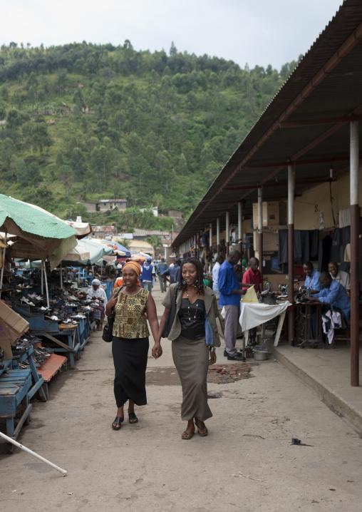 Market in the city, Lake Kivu, Gisenye, Rwanda