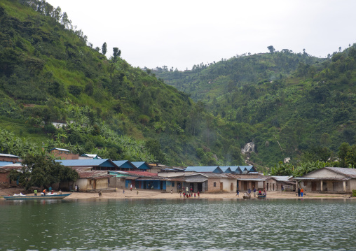Village, Lake Kivu, Gisenye, Rwanda
