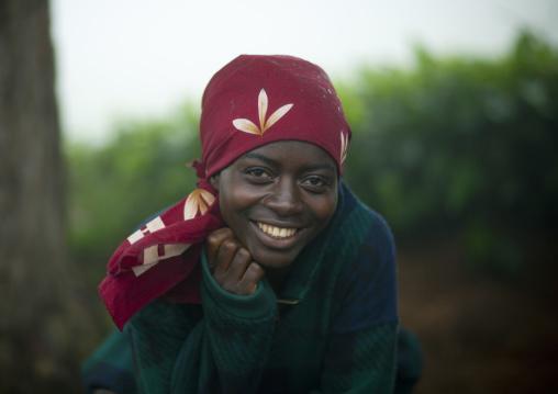 Cute rwandan girl, Nyungwe Forest National Park, Gisakura, Rwanda