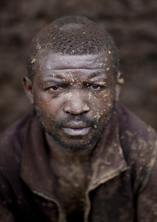 Mr yoan batwa tribe man in cyamudongo village  - rwanda