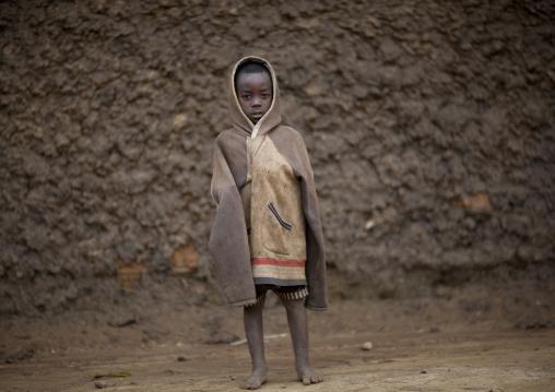 Batwa tribe boy, Western Province, Cyamudongo, Rwanda