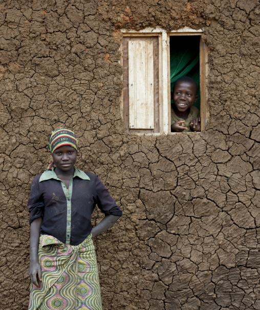 Batwa tribe people, Western Province, Cyamudongo, Rwanda