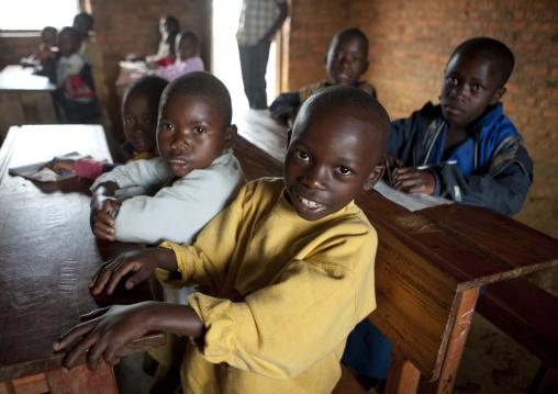 Children in a primary school, Nyungwe Forest National Park, Gisakura, Rwanda