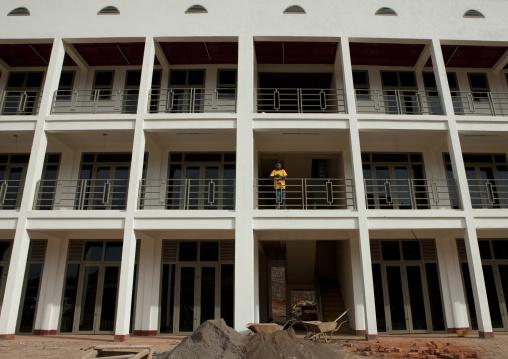 New building in construction, Kigali Province, Kigali, Rwanda