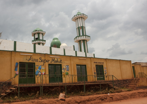 Mosque in muslim quarter , Kigali Province, Kigali, Rwanda