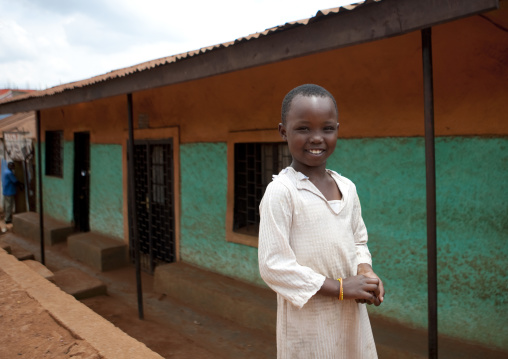 Rwanda girl in the street, Kigali Province, Kigali, Rwanda