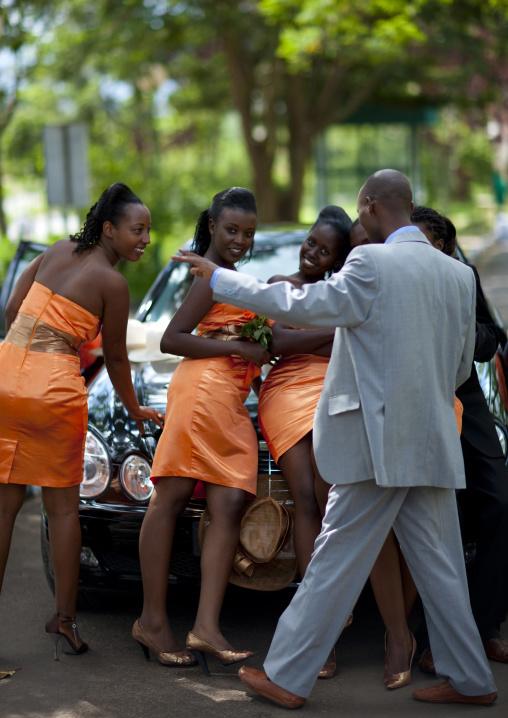Wedding in the city, Kigali Province, Kigali, Rwanda