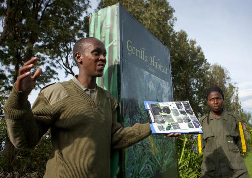 Volcanoes national park guides, Northwest Province, Rehengeri, Rwanda
