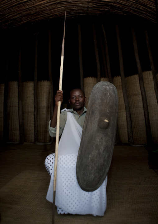Mr innocent, Intore dancer in ibwiwachu village - rwanda