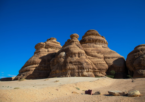 Al-Diwan in jebel Ithlib in al-Hijr archaeological site of Madain Saleh, Al Madinah Province, Alula, Saudi Arabia